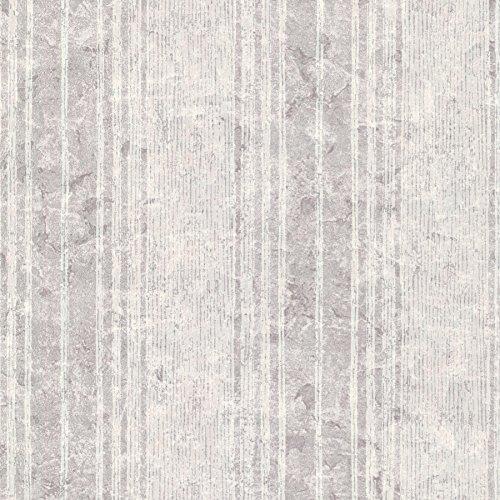 Kenneth James 672-20041 Conetta Multi Stripe Texture Wallpaper, Lavender