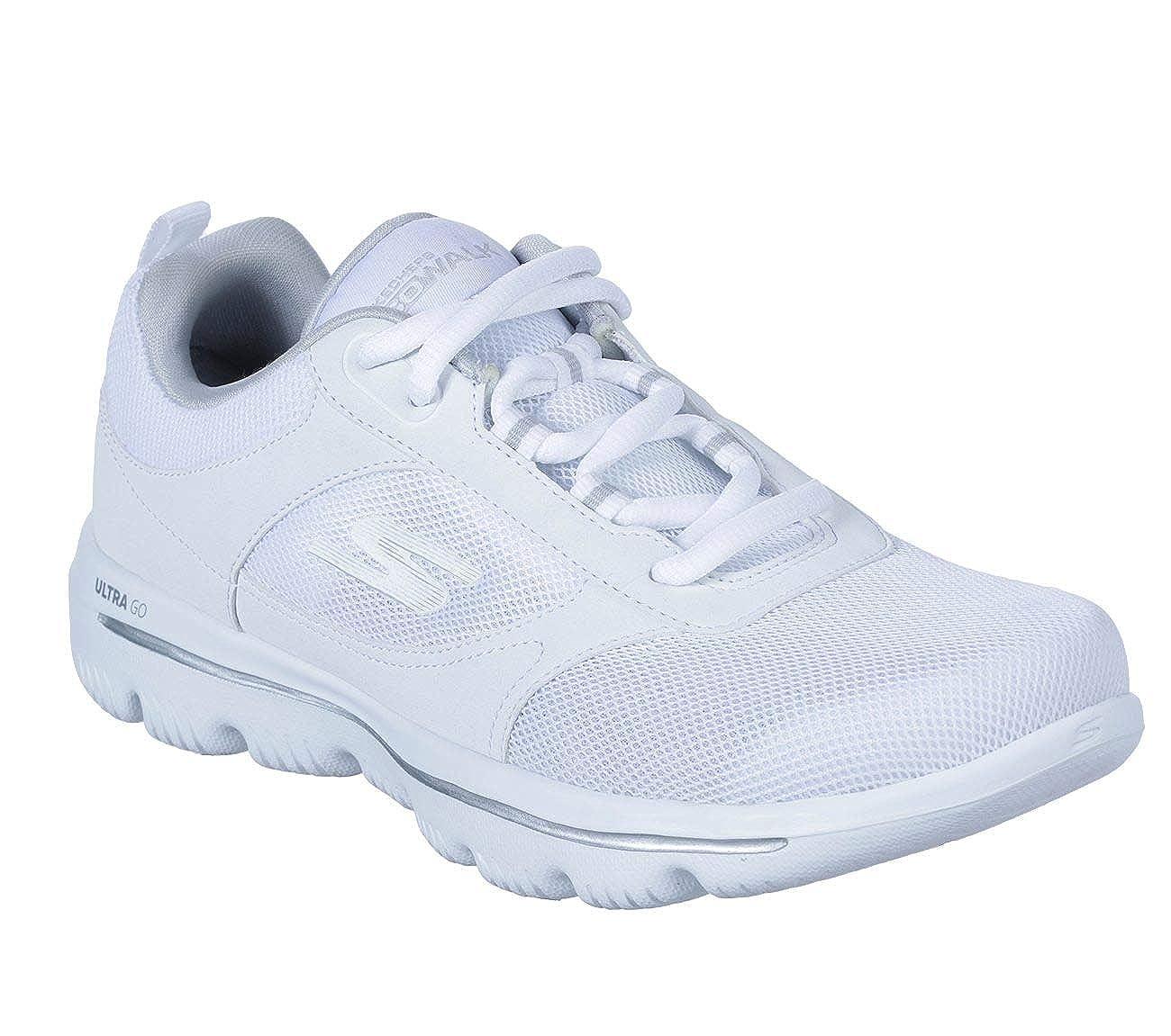 Meistverkauft Skechers Damen Schwarz Schuhe Keil Sneaker
