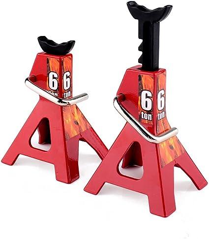 2Pcs Metal Jack Stands Repairing Tool RC Jack Stands