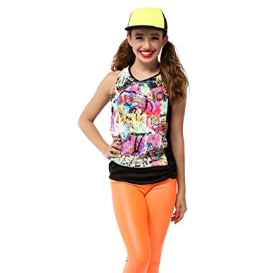 Amazon alexandra collection womens express yourself urban hip alexandra collection womens express yourself urban hip hop dance costume tank solutioingenieria Images