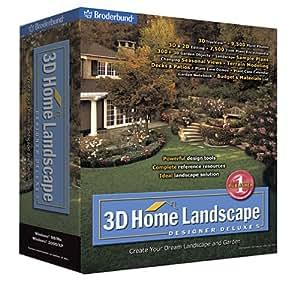 Amazon.com 3D Home Landscape Designer Deluxe 5