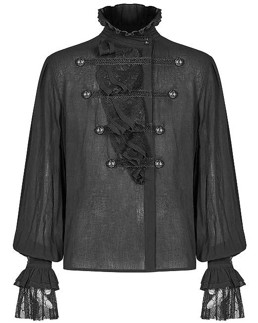 Punk Rave Regency Cravat Jabot Tie White Lace Gothic VTG Steampunk Aristocrat