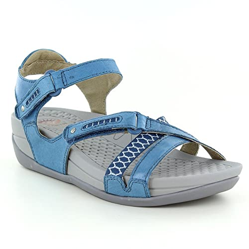 3598db862 Earth Spirit Pittsburgh Womens Walking Sandals - Moroccan Blue  Amazon.co.uk   Shoes   Bags