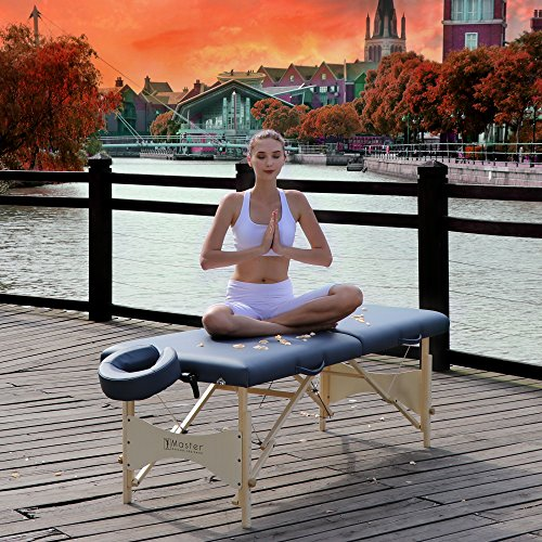 Master Massage 28'' Inch Skyline Light Weight Portable Massage Table Package