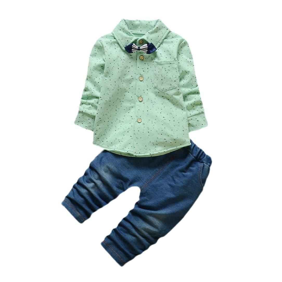 Bambini Ragazze Vestiti Set Bambina Bambino 18 24 Mesi Bimbo 24 Mesi Abbigliamento 0 24 Mesi Pezzi Bimbo Bambino Neonato Griglia Di Stampa Cime + Pantaloni Abiti Set Morwind