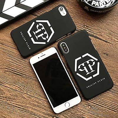 374d8a156df New Philipp Plein Matte Hard Plastic Cover case for iPhone 5 5S SE 6 6S S  Plus 7 7plus 8 8plus X Luxury Phone Cases