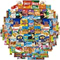 Snacks Generation Gift Care Package (100 Count) College Students, Work/ Office, Home or Military Over 9 Pounds of Cookies Chips & Candy
