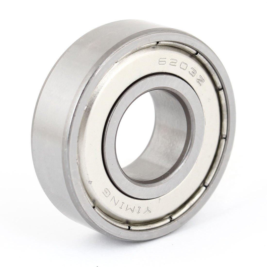 6203Z Roulement /à bille miniature /à rainure profonde radiale 17/mm x 40/mm x 12/mm