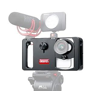 ULANZI U-Rig Metal- Estabilizador de vídeo para Smartphone, con Montura...