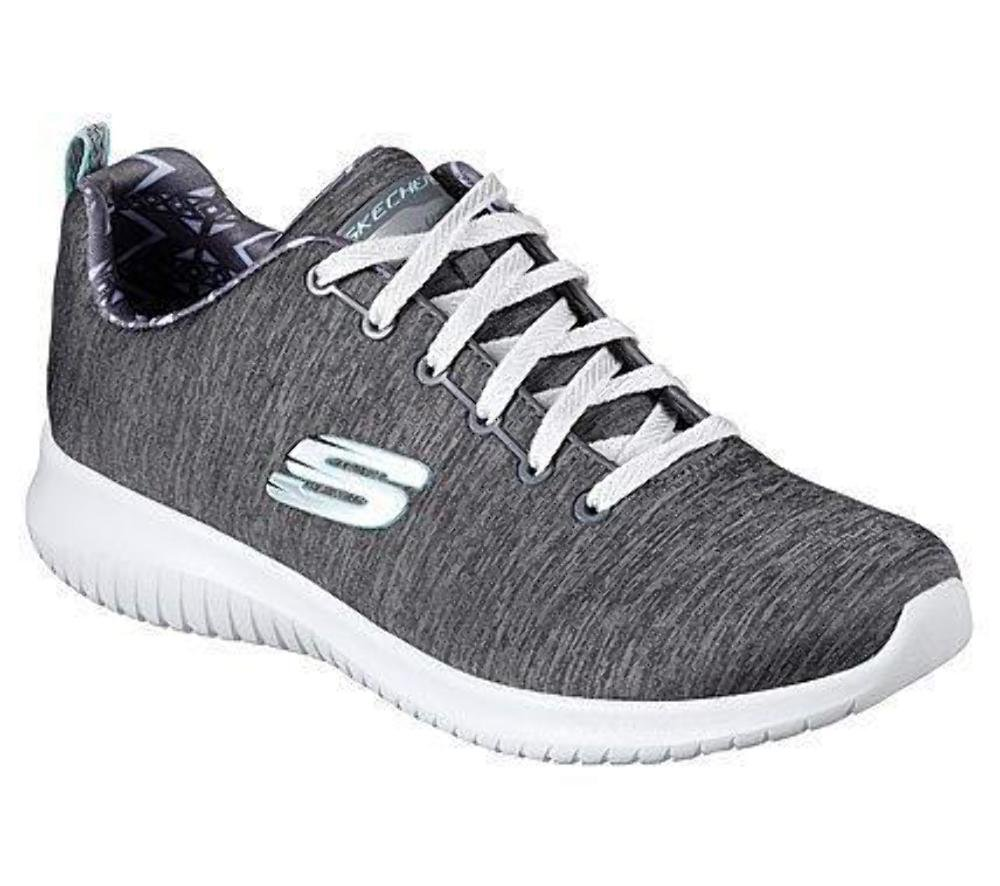 Skechers Damen Ultra Choice Flex-First Choice Ultra Sneaker Grau d1ac4f