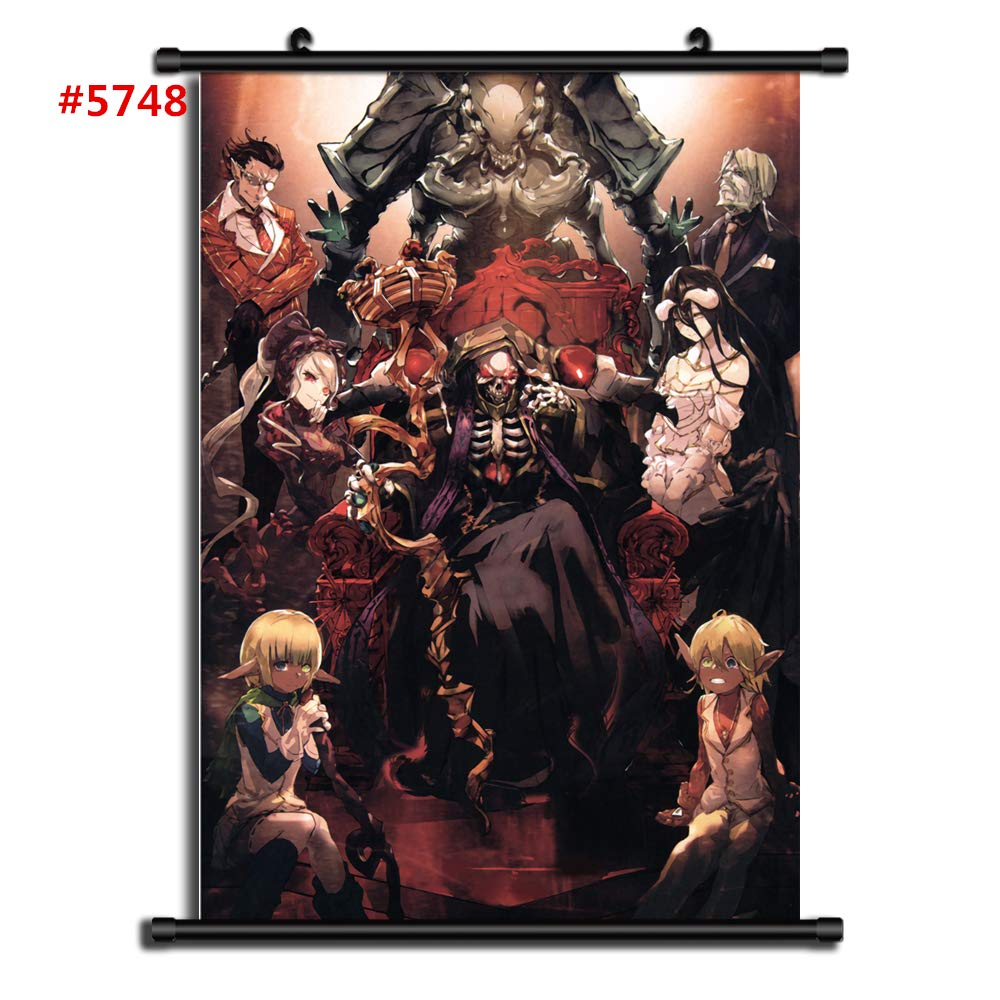 4987 Overlord Decor Poster Wall Scroll cosplay  A