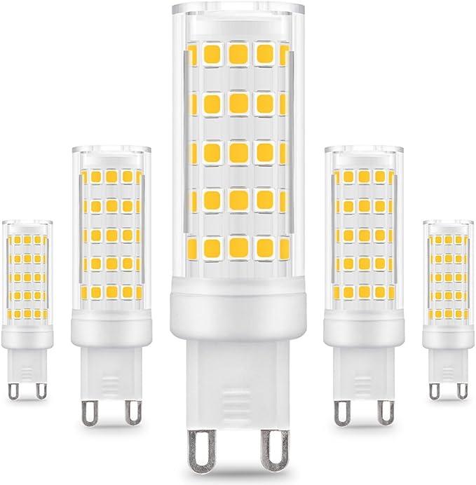 LAMPADA LAMPADINA LED 2508 COB 5 WATT ATTACCO G9 SILICONATA 300Lm 230V