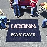 "Fan Mats Connecticut Man Cave Tailgater Rug 60""X72"""