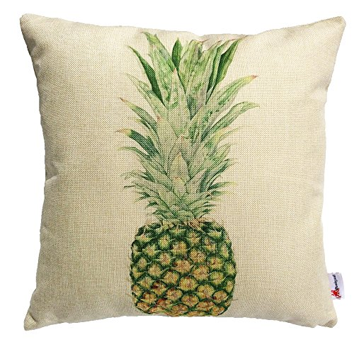 Monkeysell Colorful Pineapple hand painted Decorative