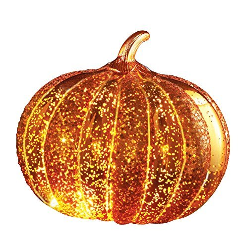 Decorative Pumpkin - Collections Etc LED Light Up Decorative Pumpkin