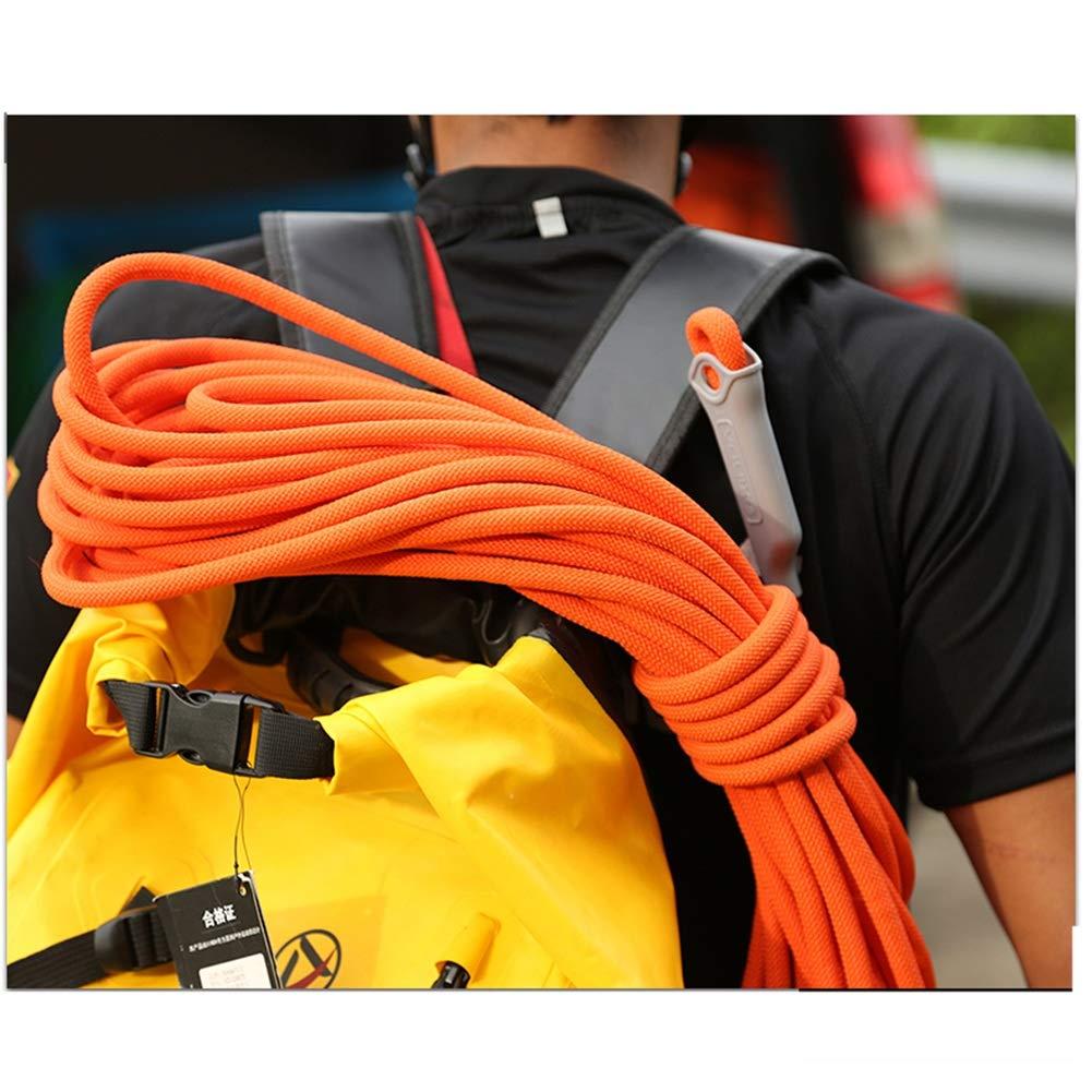 Seil Klettern Survival Rope Bergsteigerseil Kletterseil Rettungsseil-Rettungsseil-Rettungsseil-Rettungsseil Für Den Rettungsseilzug Rettungsseilzug Rettungsseilzug Im Freien Haiming (Farbe   Orange, größe   10m) B07Q2DHT8X Einfachseile Ein Gleichgewicht zwischen Zähigkei 471326