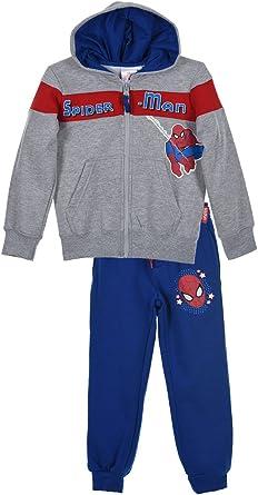 Spider-Man Chándal para niños con capucha chaqueta y pantalones ...