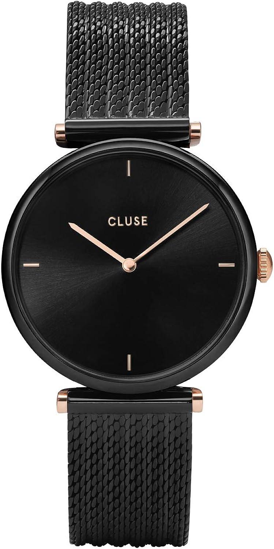 CLUSE Reloj Analógico para Mujer de Cuarzo con Correa en Acero Inoxidable CL61004
