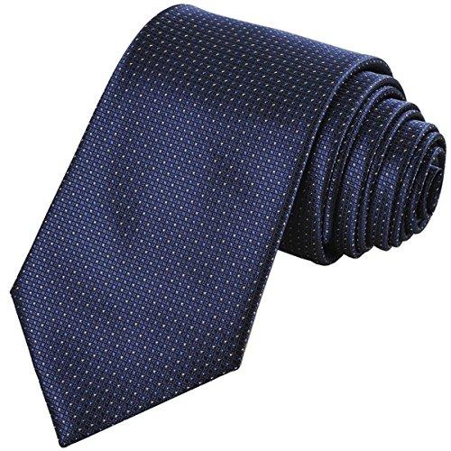 Coxeer Microfiber Necktie Wedding Business