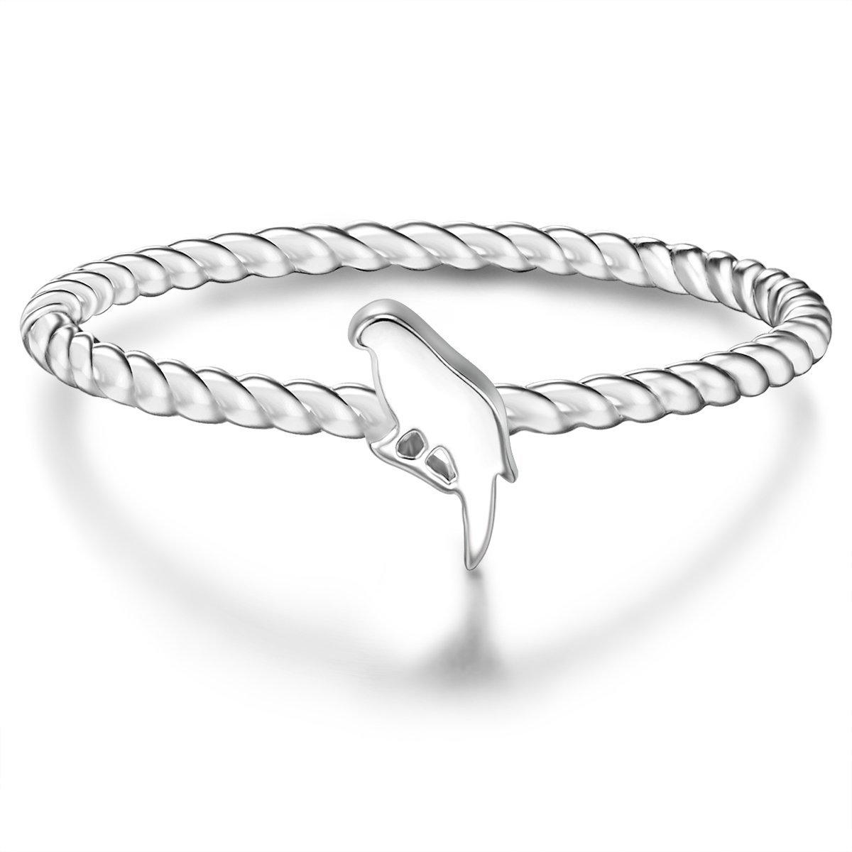Glanzstücke München Ring Sterling Sterling Silber 925-// rosévergoldet Zirkonia