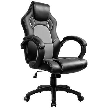 IntimaTe WM Heart Racing Chaise Moderne Confortable Ergonomique De Bureau En Similicuir PU Haute Dossier Siege