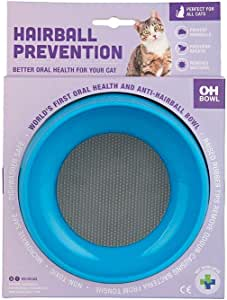 Oh Bowl World's First Oral Hygiene Anti Hairball Cat Bowl