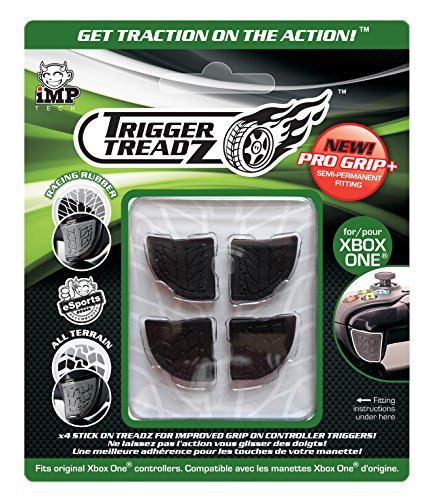 Snakebyte Trigger Treadz - Original 4-Pack for (Xbox One) - Anti Slip Trigger Rubbers - Finger Grips - Xbox One… 1