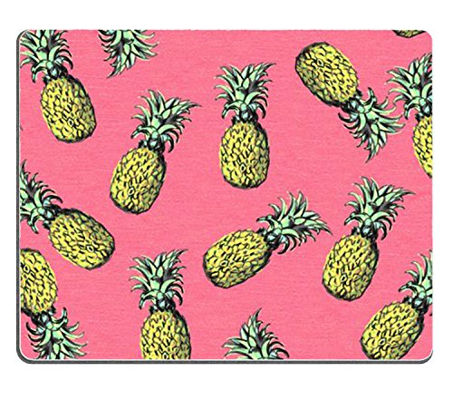 Pineapple Pattern 001 Rectangle Mouse Pad,Gaming Mouse Pad by Lilyshouse