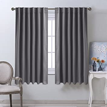 Amazon.com: NICETOWN Blackout Curtain Panels for Living Room ...
