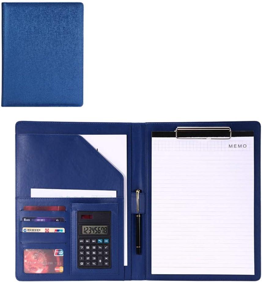 Yzibei Organizador de Carpetas de Documentos Entrevista Carpeta Hoja de Vida Organizador de Documentos legales y Tarjeta de Visita de papelería Carpeta portapapeles Titular para Tableta iPad