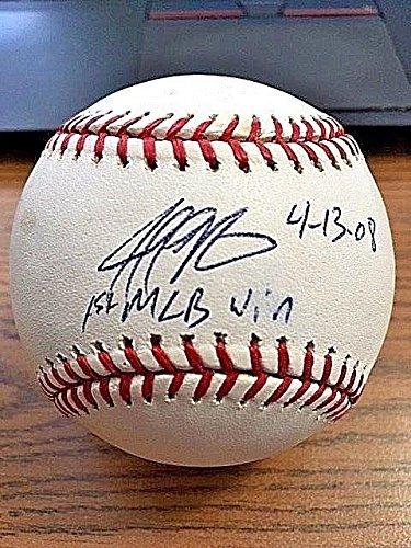 Signed Jeff Niemann Baseball - OML ! ! - JSA Certified - Autographed Baseballs Sports Memorabilia