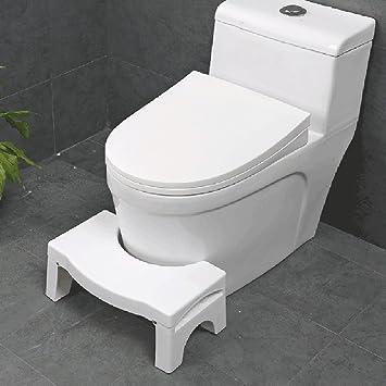 Squatting Toilet Stool, Luerme Folding Potty Foot Rest Stool Non Slip Bathroom  Step Up