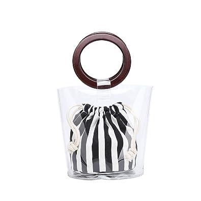 Amazon.com: Lam Gallery - Bolsa de PVC transparente para el ...