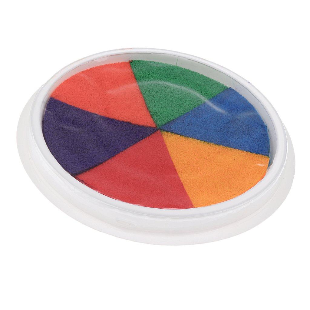 Sharplace Rilievo Inchiostro Pittura Dito Verniciatura Colorati Stampa Palme Tessuto Digitale Dipinto Artigianale Decor Ceremonia Nuziale Spugna