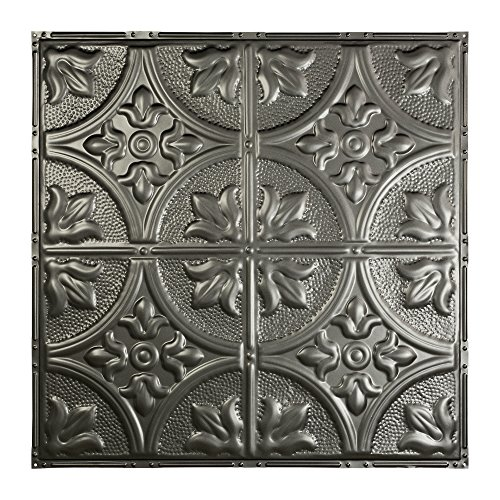 Argento Bronze Finish (Great Lakes Tin Jamestown Argento Nail-Up Ceiling Tile (12