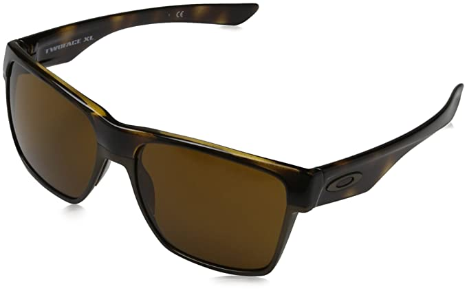 005b3a850 Oakley Men's Twoface Xl Square Sunglasses, Polished Brown Tortoise, ...