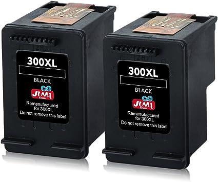 JIMIGO 300 XL 300XL Cartuchos de Tinta Remanufacturado HP 300 ...