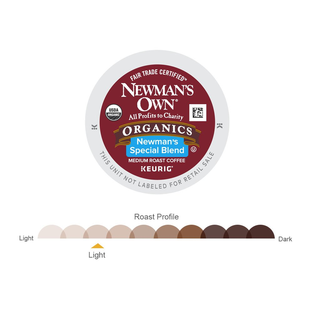 Newman's Own Organics Special Blend Keurig Single-Serve Medium Roast Coffee K-Cup Pods, 32 Count by Newman's Own (Image #3)