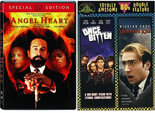 [Once Bitten & Vampire's Kiss + Angel Heart (Special Edition) DVD 80's Horror Set] (Best Cult Halloween Movies)