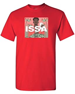 2a3e95a7996a ISSA 21 Savage Rap Amber Custom Mens T-Shirt Tee S-3XL New-