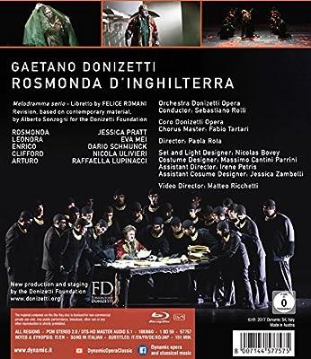 Donizetti, G.: Rosmonda dInghilterra Opera Fondazione Donizetti ...
