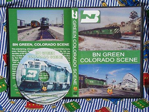 BN GREEN, COLORADO SCENE (railroads)