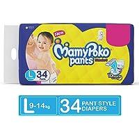 MamyPoko Pants Standard Diapers, Large (Pack of 34)