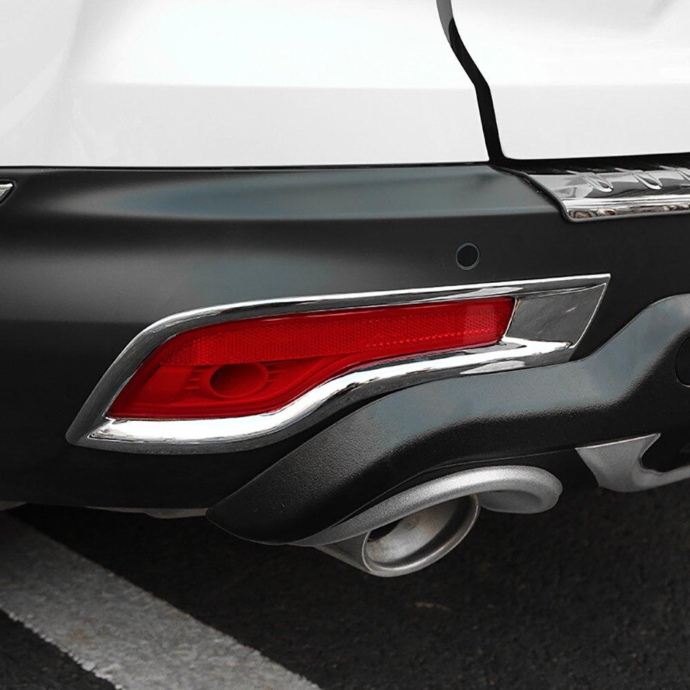 Bwenリアフォグライトランプカバーベゼルトリムフィットfor Honda CRV 2017,2pcs B077BXSFJ4