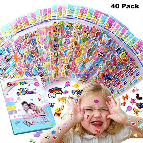 Kids Stickers 1200+ 40