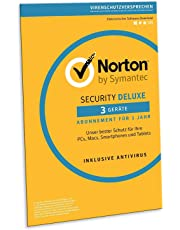 Norton Security Deluxe 2019 | 3 Geräte | 1 Jahr | PC/Mac/iOS/Android | Download