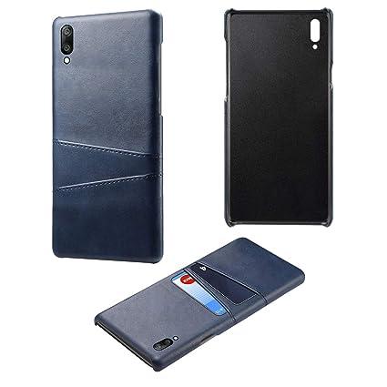 size 40 65dba 7d0f8 Amazon.com: zukabmwus Case for Huawei Y6 Pro 2019, Ultra Slim Wallet ...