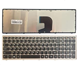 New Laptop Replacement Keyboard for Lenovo IdeaPad Z500 Z500A Z500G P500 US Layout No Backlight