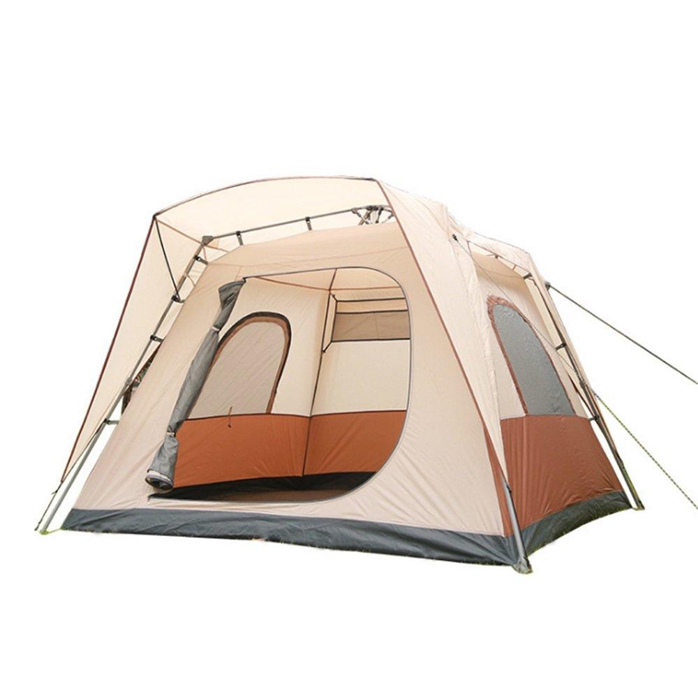 Yzibei Haltbar Outdoor-Setup Automatische Zelte öffnen 5-8 Personen, um Skylight Camping Zelte auf eine Sekunde zu atmen