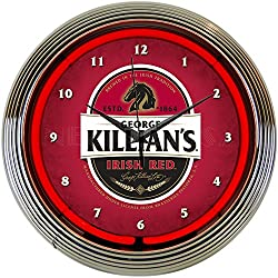 Neonetics Killians Irish Red Beer Neon Clock